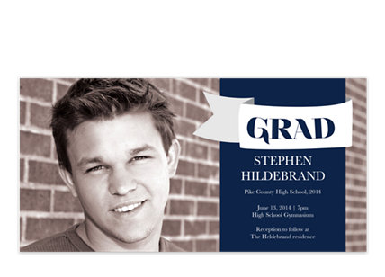 Bravo Graduation Party Invitations