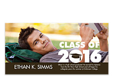 Congratulations Photo Graduation Announcements