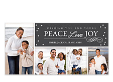 Peaceful Christmas Photo Cards