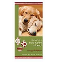 Nostalgic Ornaments Christmas Photo Cards