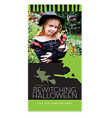 Bewitching Halloween Photo Cards