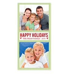 RickRack Christmas Photo Cards