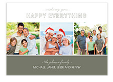 Good Tidings Christmas Photo Cards