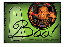 Boo! Halloween Photo Cards