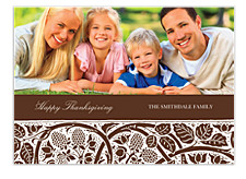 Thanksgiving Tapestry Thanksgiving Photo Cards