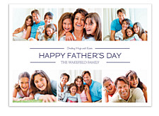 Picture Box Photo Father's Day Cards