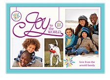 Joy to All Photo Christmas Cards