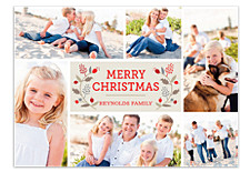 Merry Berries Christmas Photo Cards