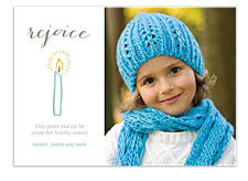Rejoice, Rejoice Photo Holiday Cards