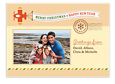 Holiday Airplane Holiday Photo Cards