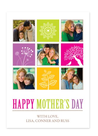 Our Own Bunch Mother's Day Photo Cards