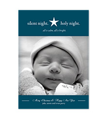 Simply Stated Photo Christmas Cards