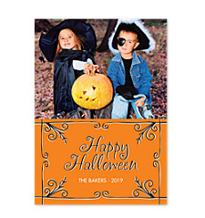 Eerie Halloween Photo Cards