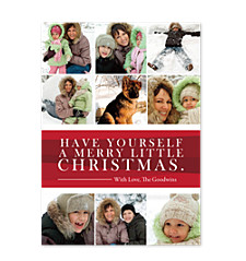 Merry Little Christmas Photo Holiday Cards