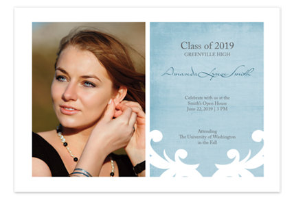 All the Best Graduation Invitation Photo Cards