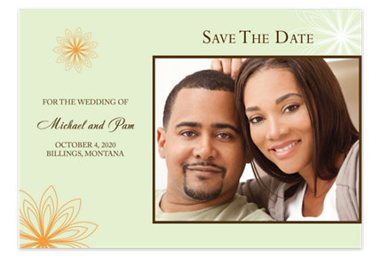 Celebrate My Love Save the Date Photo Cards