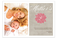 It's Your Day Mom Mother's Day Photo Cards