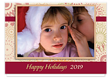 Pinwheels Holiday Photo Cards
