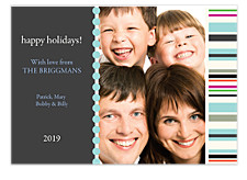 Bliss Blue Holiday Photo Cards