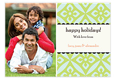 Intrigue Holiday Photo Cards