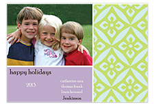 Wisteria Christmas Photo Cards
