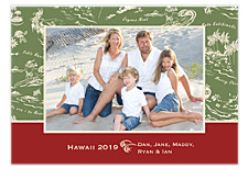 Aloha Photo Christmas Cards