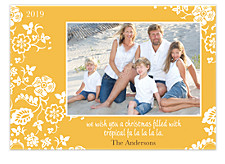 Golden Moments Christmas Photo Cards