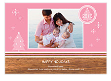 Yuletide Christmas Photo Cards