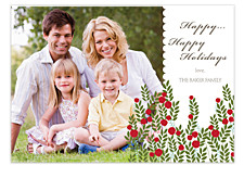 Holly Field Photo Christmas Cards