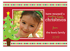 A Merry Little Photo Christmas Cards