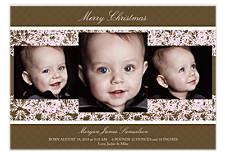 Grand Gesture Holiday Photo Cards