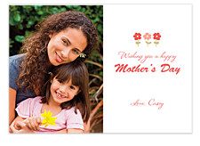 Olivia Flower Mother's Day Cards