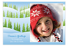 Through the Woods Christmas Photo Cards