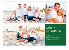 Holly Jolly Christmas Photo Cards
