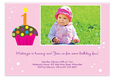 Sprinkles on Top Kid Birthday Party Invitations