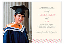 Simple Graduation Invitation Cards