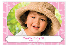 Baby Vine Thanks Photo Thank You Cards