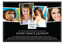 Multiphoto Graduation Announcement Cards