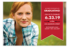 Hurray for You Graduation Invitation Photo Cards