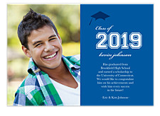 Nicely Done Graduation Announcement Photo Cards