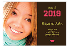 Class of Graduation Invitation Photo Cards