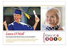 Sensational Graduation Announcement Photo Cards