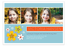 Fabulous Graduation Invitation Photo Cards