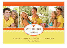 Crazy In Love Save the Date Photo Cards
