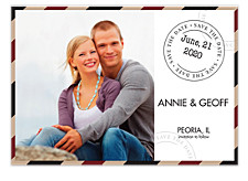Postmark Save the Date Photo Cards