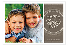 Unbroken Circle Father's Day Photo Cards