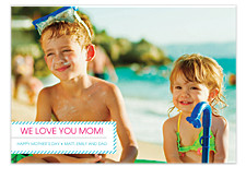 We Love You Mom Photo Cards