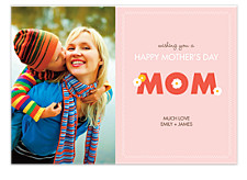 Daisies for Mom Photo Cards