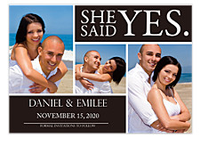 Will You Marry Me? Save the Date Cards