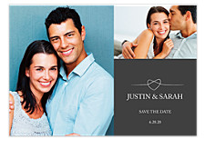Tie the Knot Save the Date Cards